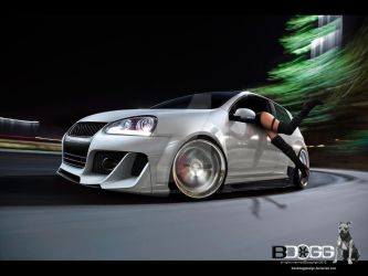 Volkswagen Golf V by blackdoggdesign