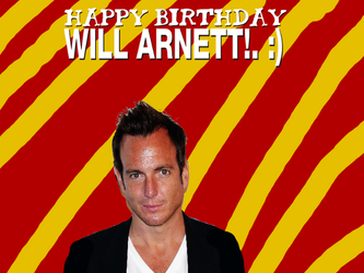 Happy Birthday Will Arnett! by Nolan2001