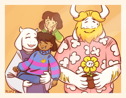 Dreemurr Family Photo by PC012