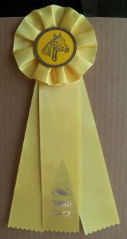 Horse Show Ribbon 3rd Stock by Lovely-DreamCatcher