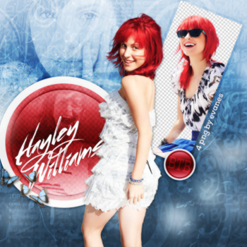Hayley Williams Png Pack by MileyIsMyAngel