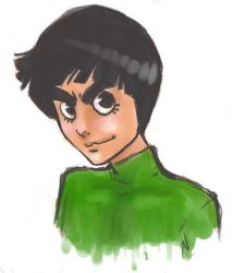Rock Lee by Hybrid-Connection