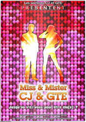 Miss and Mister CJ GTE flyer by Epoc22