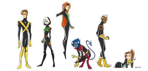 Xmen Evolution by fooshigi