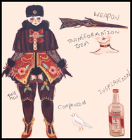 VODKA MAGICAL GIRL (contest) by tarte-milk
