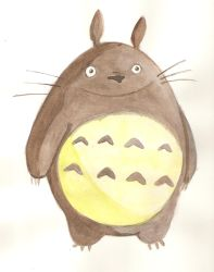 Totoro by nicy-chan
