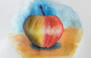 watercolour pencils first try by rhizin