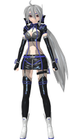 Project Diva Arcade Future Tone Cyber Dive Haku by WeFede