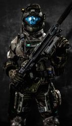 ODST At the Ready by LordHayabusa357
