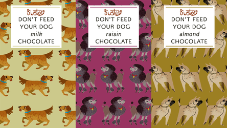 rustees: DON'T FEED YOUR DOG CHOCOLATE by reimena