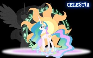 Celestia Wallpaper by PCS4DDT
