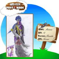 Harvest Pokemoon Application: Artemis Bellerose by 1wordinsane