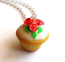 Painting The Roses Red Cupcake by FatallyFeminine