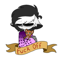 Fuck Off by SpaazleDazzle