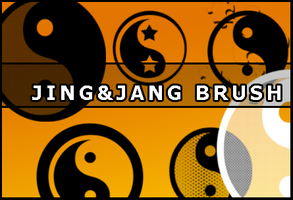 Jing and Jang brush by Faeth-design