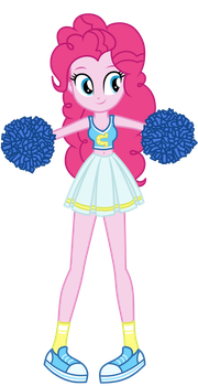 Cheerleader Pinkie Pie by MixiePie