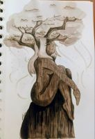 [dryad]its time to think by AliceBlueCat