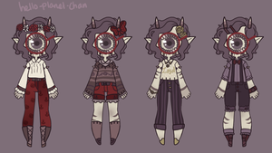 Outfit set - finalreset by hello-planet-chan