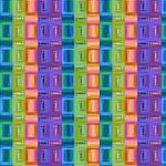 Colorful Striped Pattern by Humble-Novice
