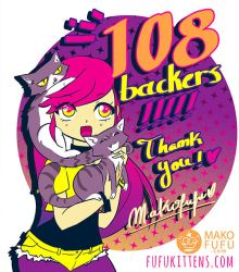 Thanks for your support! by Mako-Fufu