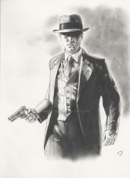 Cole Phelps - L.A Noire by emicathe