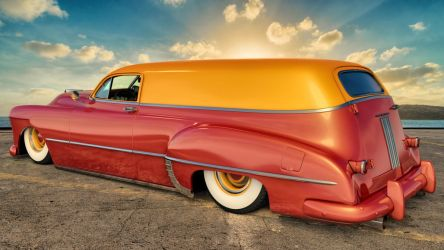 1949 Pontiac Streamliner Six Sedan Delivery by SamCurry