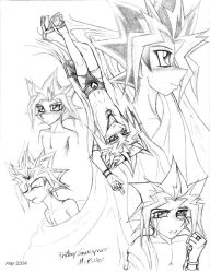 The Many Sides of Yami by RoseDuelistBBSHM