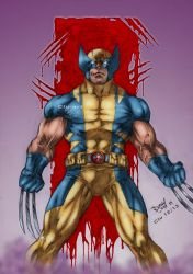 X-Men: Wolverine by Clu-art