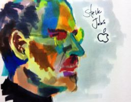 Steve Jobs by SuscrofaD