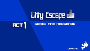 FAKE Sonic Fan Game Screenshot Loading Screen by HomingMissile333