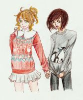 Ugly Sweaters by KuroKi-RinGo