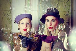 Shooting Sandra H. and Julia T. // Winter 2013 by AngelxBaby