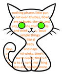 Little Purr (Shape Poem) by MagicalJoey