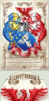 Family crest of Sirotinin by Inshader