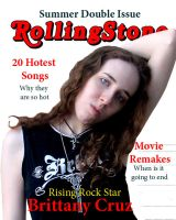 Rolling Stone Mag Cover 1 by BrittanysDesigns