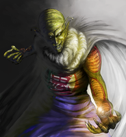 The Great demon King Piccolo by tetsuok9999