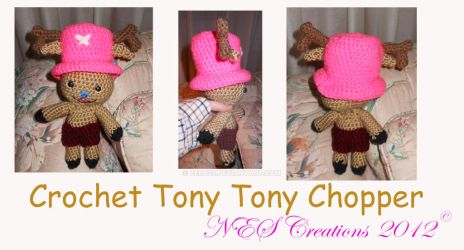 Crochet Tony Tony Chopper by Zero23