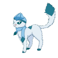 Glaceon by egrace15