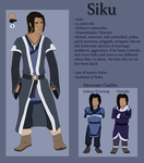 Siku Reference Sheet by NicoleSt