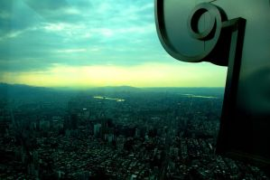 View from Taipei 101 by esee