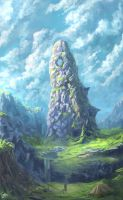 Pillar of hope by TomTC