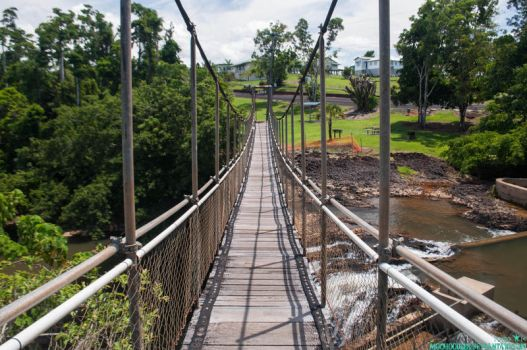 Suspension Bridge by Moohoodles