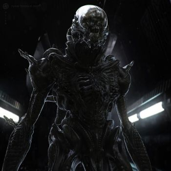 Alien by BlazenMonk