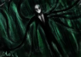 Creepypasta: Slenderman by CyberII