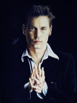Johnny Depp 1 by Maggy-P