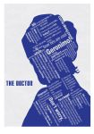 Doctor Who Typographic Poster by skalatte