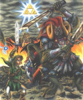 Battle for the Triforce II by mattleese87