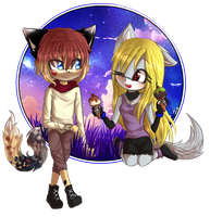 Comm: -Friends can, still, have fun- by avozinha