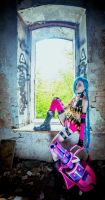 League of Legends - Jinx cosplay by Shredinger-Cat