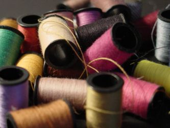 Thread spools by SilverrOne